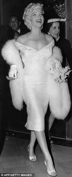 "Marilyn at the premier of ""The Seven Year Itch"" June 1, 1955 Marilyn's 29th birthday. Release date June 3, 1955"