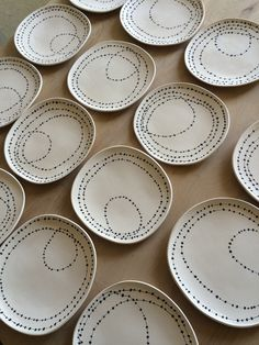 Plates by Lari Washburn