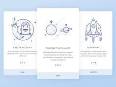 40 примеров шикарного дизайна мобильного приложения | Say-hi
