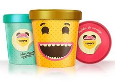 Ice Cream Package Design Inspiration