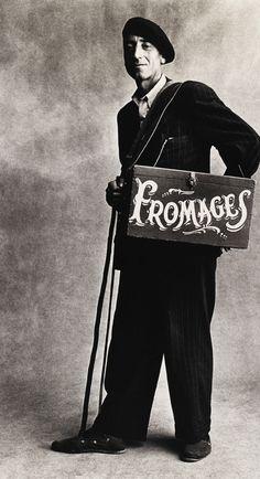 Irving Penn Cheese Monger, Paris 1950
