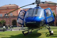 Uno Splendido Elicottero nel Giardino Storico della Settecentesca Villa Signorini!!! (Foto di Antonio Borriello)