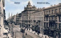 L'avenue de Jérusalem à Varsovie