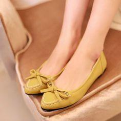 Knot Women Flats Ballet Shoes Woman 3406