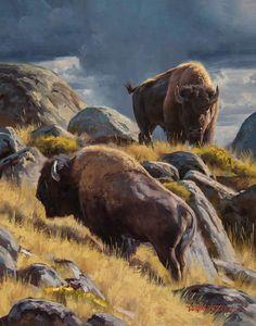 Animal Mugs, Oil Painters, Wildlife Art, Western Art, Art Auction, Contemporary Artists, Impressionist, Van, Fine Art