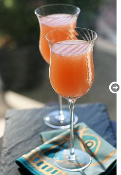 Non alcoholic drinks: Grapefruit bliss