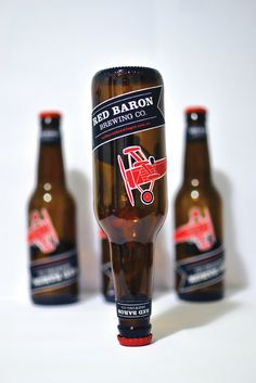 Red Baron Brewing Co. on Behance