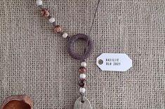 Collier éco-responsable long avec anneau Basilic Jewelry, Necklaces, Jewerly, Jewlery, Schmuck, Jewels, Jewelery, Fine Jewelry, Jewel