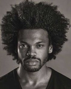 These black men hairstyles and haircuts are trendy and hot. The best collection of black men haircuts in 2020 with stylish images for inspiration. Thick Curly Haircuts, Black Men Haircuts, Black Men Hairstyles, Curly Hair Cuts, Afro Hairstyles, Curly Hair Styles, Curly Afro, Ponytail Styles, Hairstyles Pictures