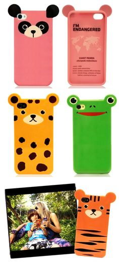 Endangered Animals iPhone Case - 10% of net profits goes to support  endangered species.