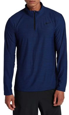 pretty nice 77b97 5a7f8 Nike Men s Breathe Dry Quarter Zip Long Sleeve Shirt