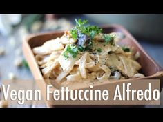 Easy Vegan Fettuccine Alfredo RECIPE: SERVES: 2 Ingredients: - 2 medium white potatoes - 1/4 white onion - 1 Tbsp Italian seasoning (a blend of basil, oregan...
