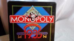 MONOPOLY 1935 COMMEMORATIVE EDITION BOARD GAME IN TIN-PIECES ARE SEALED-NEW…