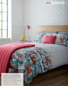 Three Ways To A Brilliant Bedding Update  Anyone know where to get this duvet/comforter?