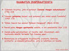 4. Raamatun inspiraatio | joukokoistinen.fi