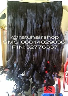 Ratu Hair : HAIR CLIP BIG LAYER MERK PINK TERMURAH