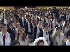 Unification Church Mass Wedding: From Strangers to & Do& - It's wedding day for couples, some matched by Mrs. Moon just days before the ceremony. Midnight Prayer, Divorce Law, Third Anniversary, Happy Marriage, Carnations, Love S, Revolutionaries, Dreaming Of You, Religion