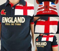 POLOS DEL MUNDIAL # 2: Inglaterra. Ready for glory! #england #worldcup #mundial #inglaterra