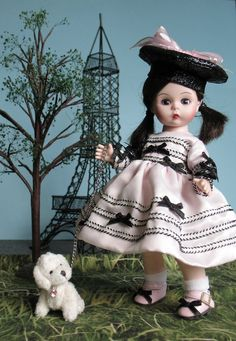 Ginger's Gems Creations makes furniture and accessories scaled for use with 8 inch dolls such as Madame Alexander, Ginny, Muffie and more. Visit http://gingersgems.wordpress.com