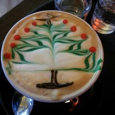 Merry Christmas Coffee Lovers!! Greetings from Coffee Lovers Magazine www.coffeeloversmag.com/theMagazine #Christmas #Coffee #Latte