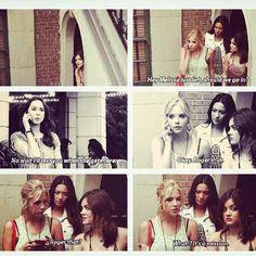 LOL, Hanna being Hanna x) (Pretty Little Liars)