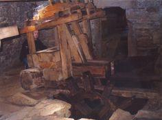 Batáns de Mosquetín. Sistema hidráulico utilizado para bater la lana #Costadamorte