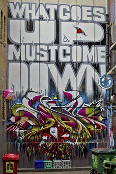 Melbourne Graffiti .....