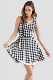 Charleston Plaid Dress