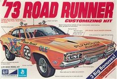 MPC 73 Road Runner Customizing kit Box Art