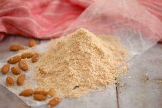 A mound of gluten-free almond flour. Make Almond Flour, Almond Flour Recipes, Oat Flour, Coconut Flour, Nut Recipes, Bread Recipes, Cake Recipes, Vegetarian Recipes, Health Desserts