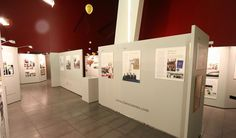 displays used in art gallery - Google Search