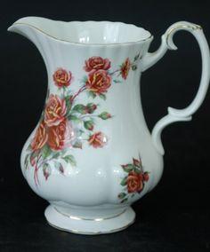 Royal Albert Centennial Rose Vase/Jug Very Good by MahoganyCreek Rose Vase, China Sets, China Patterns, Updated Kitchen, Royal Albert, Dining Room, Treats, Bar, Coffee