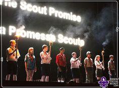 #Scout By: Fogón virtual Scout