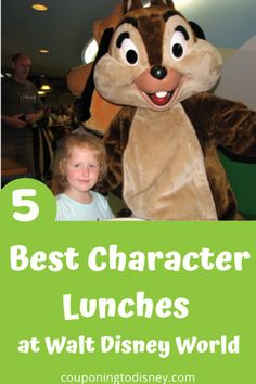 5 Best Character Lunches at Walt Disney World