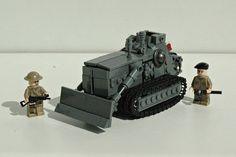 Armoured Caterpillar D7