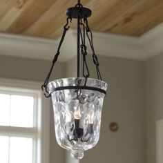 Perfect for entrance, small hallway or kitchen...Beautiful light that puts off an elegant light!