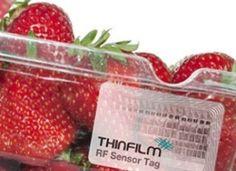 Thin film printed electronics target smart packaging