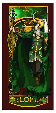 {xxiii} loki very green. unfortunately thor is needing a revamp after how loki turned out, haha /shot