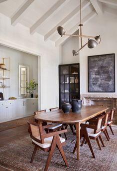 Küchen Design, House Design, Home Interior Design, Interior Decorating, Appartement Design, Amber Interiors, Dining Room Inspiration, Dining Room Design, Interiores Design