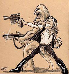 Han & Chewie - Star Wars