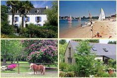 Gites self-catering accommodation near Benodet, Brittany www.Kergarec.com #frenchfamilyholiday