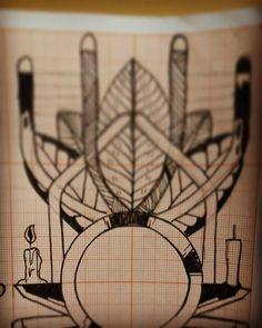 Um por dia  #tecnorganics #desenho #esboço #draw #unipin #staedler #milimetrado #castelotattoostudio #mesadeluz #sketch #tattoo #estudo #exerciciodiario #ixlutx #sub_urbanos #summer ##boceto #rabiscos #traços #at #design #folhas #velas #luz #velocidade #simbiose #preto #nankin #ixl #