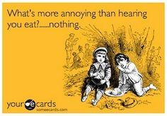 Misophonia- for reals. I swear ta God I have this!