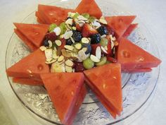 Lady Behind The Curtain - Honey Lime Fruit Salad