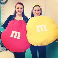 Pin for Later: 30 Halloween Costumes For the Couple Who's Obsessed With Food M&M's