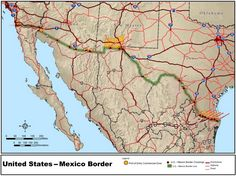 Illegal border crossings five-year low in February 2017 according to the Department of Homeland Security. This is apparentlythe result of stronger enforcement activity on the Mexican border.   #border wall