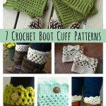DIY Crochet Boot Cuff Patterns {7 Free Designs}