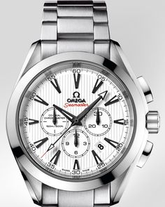 OMEGA Watches: Seamaster Aqua Terra Chronograph