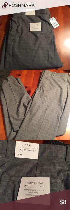 NWT gray dress pants Brand new with tags gray dress pants. Perry Ellis Pants