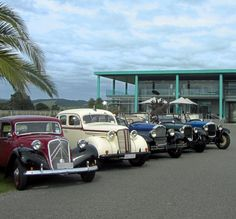 Hooters Convoy at Elephant Hill in Hawke's Bay, New Zealand… Beautiful Lines, Luxury Travel, New Zealand, Antique Cars, Automobile, Scenery, Elephant, Lovers, Events